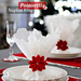 Crochet Poinsettia Napkin Ring pattern