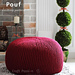 Knit Pouf pattern