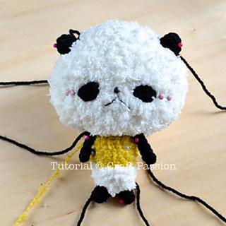 Panda Bear Amigurumi Crochet Pattern – Free! — Angie's Art Studio | 320x320