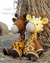 Gem & Guy Giraffe Amigurumi
