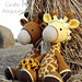 Gem & Guy Giraffe Amigurumi pattern