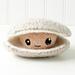 Felted Knit Amigurumi Clam pattern