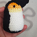 Peggy the penguin pattern