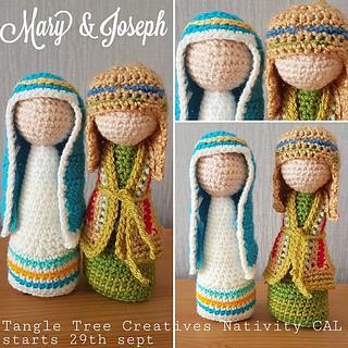 Crochet Nativity Set - Free Crochet Pattern | 320x320