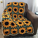 Sunflower Square Blanket pattern