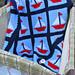 Sailboats Ahoy Afghan pattern