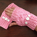 Basket Weave Fingerless Gloves pattern