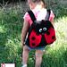 Lady Bug Backpack pattern