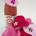 Innocent Drinks Big Knit HAT with BRIM pattern