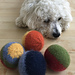 Felted Dog Ball Toy pattern