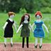 Cap Sleeved Dress for Tiny Rag Dolls pattern