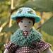 Cozy Shawl for Tiny Rag Dolls pattern