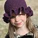 Ella Hat (ruffle beanie) pattern