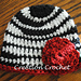 Zebra Newborn Hat pattern