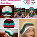 Winter Waves Chevron Semi Slouch pattern