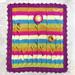 Sunflower Baby Blanket pattern