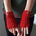 Cherry Red Handwarmers pattern