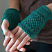 Emerald Green Handwarmer pattern