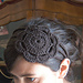 Headband with Flower pattern