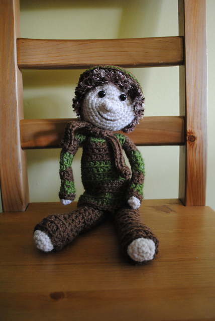Amigurumi Doll, A Work In Progress – Geek and Yarn | 640x428