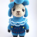 Animal Crossing: Cyrus the Alpaca pattern