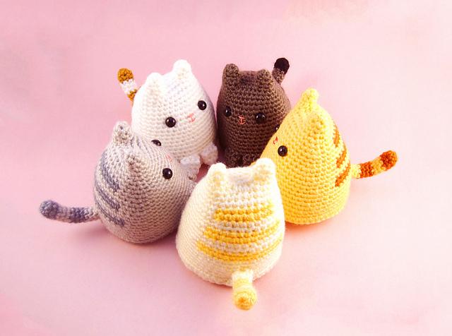 Amigurumi - Cat Collection - Large Ami Cat - Free Pattern ... | 476x640