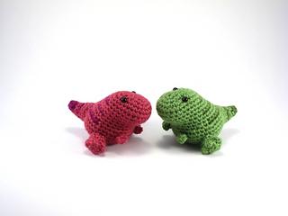 Amirugumi Dinosaur Free Crochet Pattern | 240x320