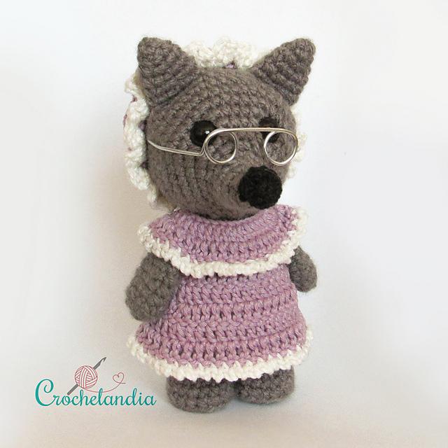Crochet wolf amigurumi pattern | Crochet wolf, Crochet patterns ... | 640x640