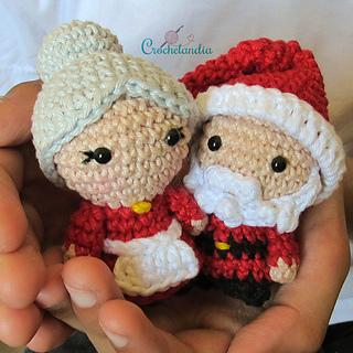 Mr & Mrs Santa Claus Amigurumi Original designs by... | | 320x320
