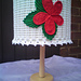 Lampshade with Flower pattern