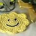 Smiling Face Coaster pattern