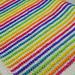 Sassy Stripes Baby Blanket pattern