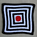 On Target Baby Blanket pattern
