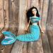 Barbie Cobble Stitch Mermaid Tail pattern