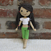 Amigurumi Doll 'Summer Girl' pattern
