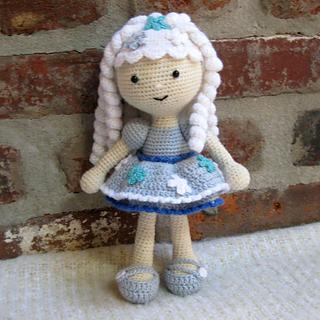 V724 Funny Handmade Crochet Toys Flower Pattern Amigurumi Doll Toy ...   320x320