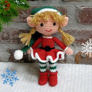 Ravelry: Buddy the Elf Amigurumi pattern by Allison Hoffman | 320x320