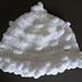 Snowball baby hat pattern