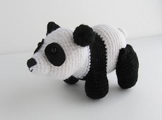 Amigurumi Crochet Panda Pattern | Supergurumi | 237x320