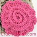 Spiraled Flower pattern