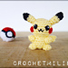 Pikachu and his Pokeball pattern