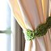 Curtain Tie Back pattern