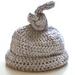 Newborn Knot Hat pattern