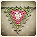 Garland :: Granny Bunting with Border Edging pattern