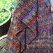 Arctic Meadow Stole pattern