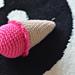 Ice cream rattle pattern