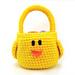Chick Bird Easter Basket pattern