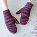 Ribbon Mittens pattern