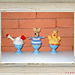 Easter Chick, Hen and Bunny pattern
