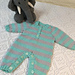 Baby Romper and Beanie pattern